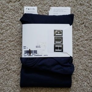 """HUE Accessories - HUE """"Ultimate Opaque"""" NAVY control top Tights"""